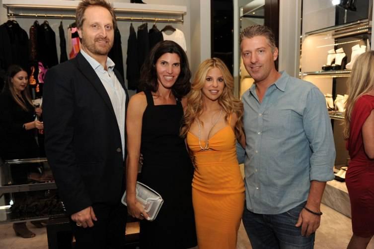 Andrew & Tiffany Speyer, Nikki & Michael Simkins
