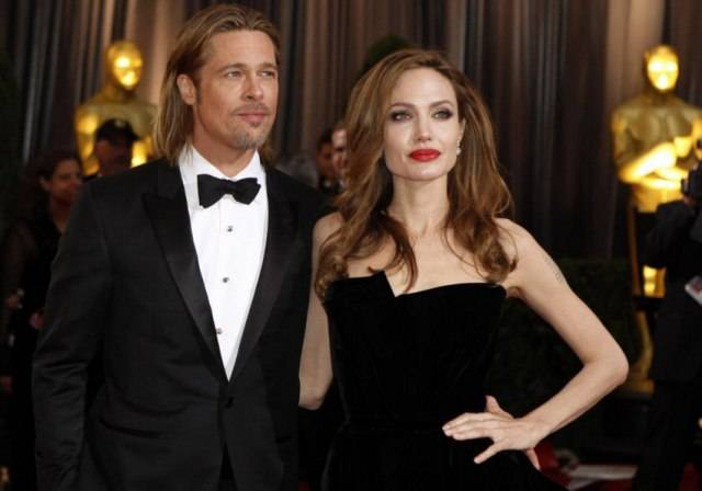 Brad Pitt Angelina Jolie UAE