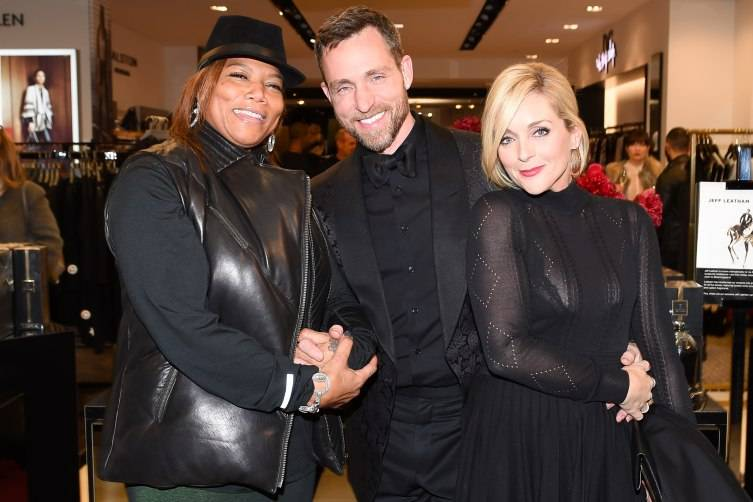Jane Krakowski, Jeff Leatham, Queen Latifah
