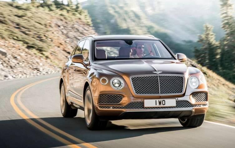 Dubai Auto Show Bentley Bentayga