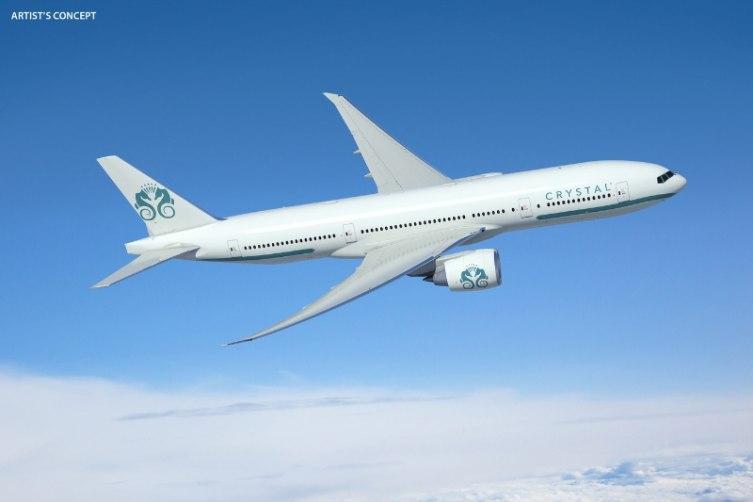 Crystal Luxury Air - Boeing 777 Artist's Concept