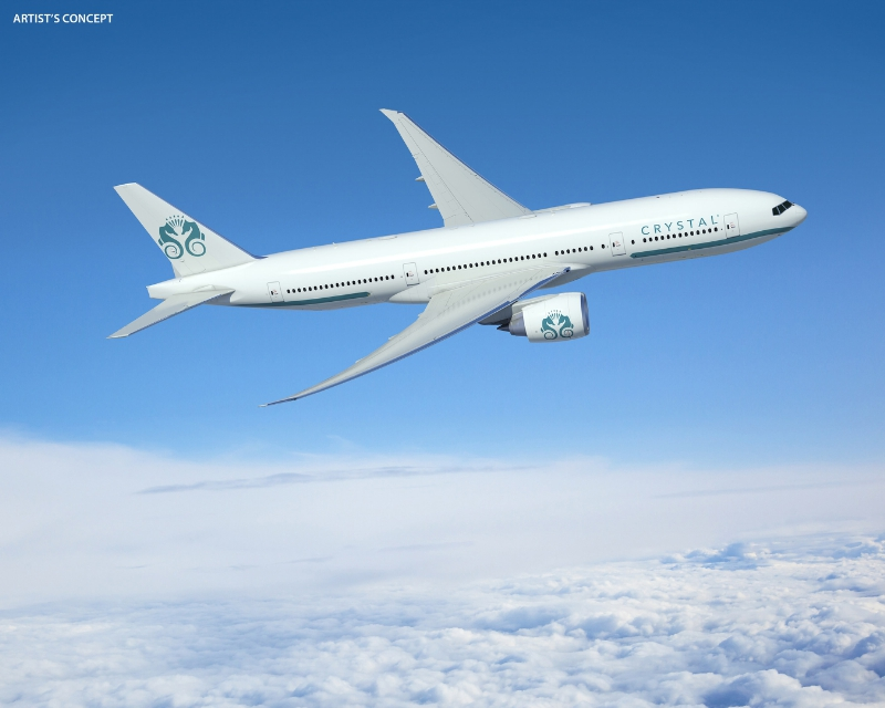 Crystal Luxury Air - Boeing 777 Artist's Concept