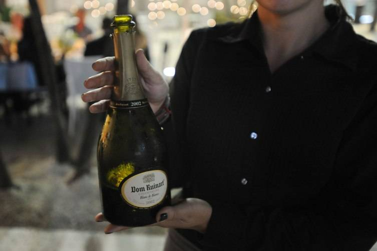 Dom Ruinart Champagne Blanc de Blancs 2002