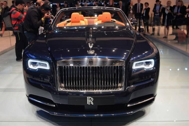 Dubai Auto Show Rolls Royce Dawn