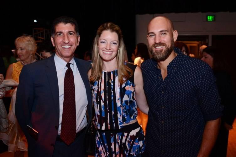 Executive Director Michael Scolamiero, Board Member Randi Wolfson Adamo, & Chris Adamo