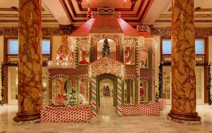Fairmont San Francisco Gingerbread House
