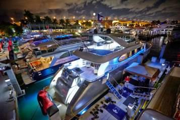Ft. Lauderdale Boat Show Yachts
