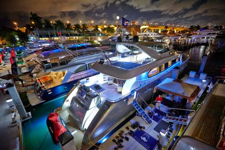 Ft. Lauderdale Boat Show Yachts