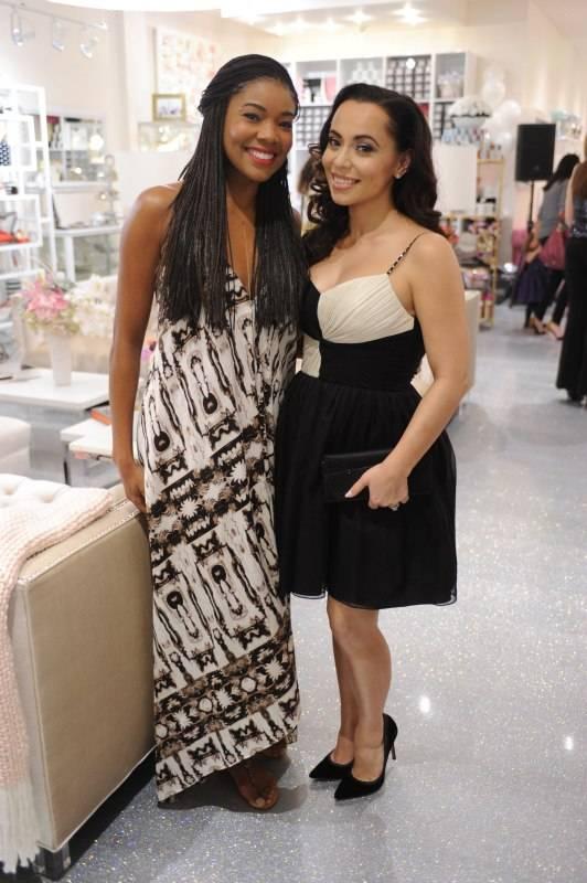 Gabrielle Union & Adrienne Bosh