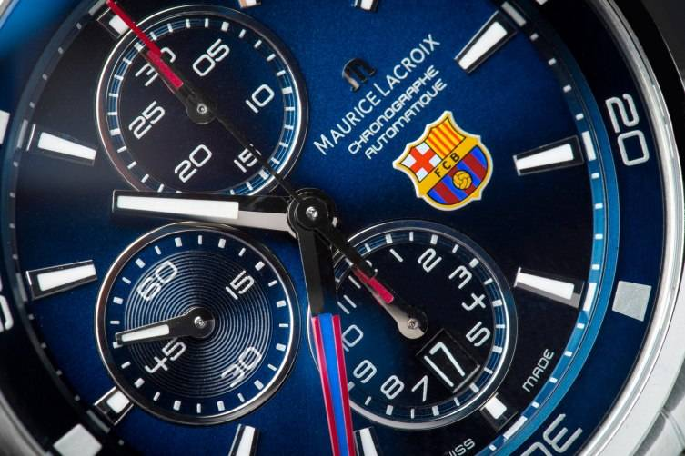 Hands-On-The-Maurice-Lacroix-Pontos-S-FC-Barcelona-Official-Watch-dial