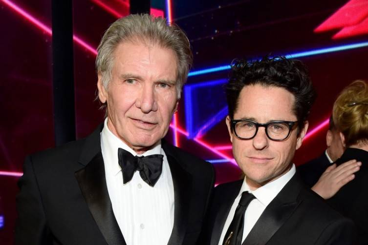 Harrison Ford and J.J. Abrams