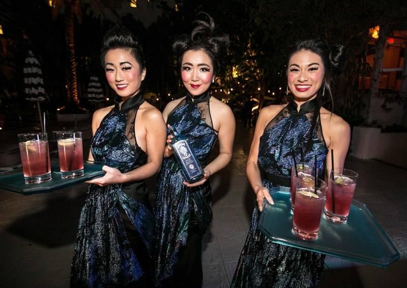 LuckyRice Miami Festival Waitresses