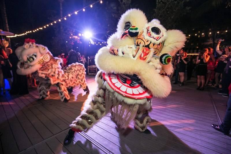 LuckRice Miami Festival Dragon