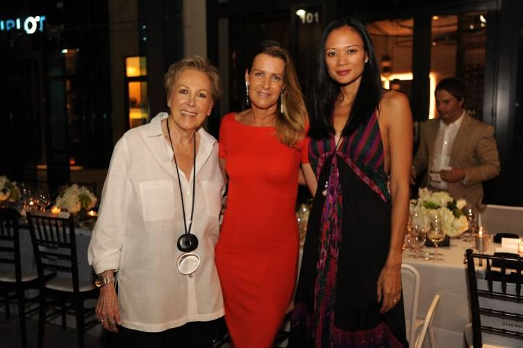 Iran Issa Khan, India Hicks, & Criselda Breene