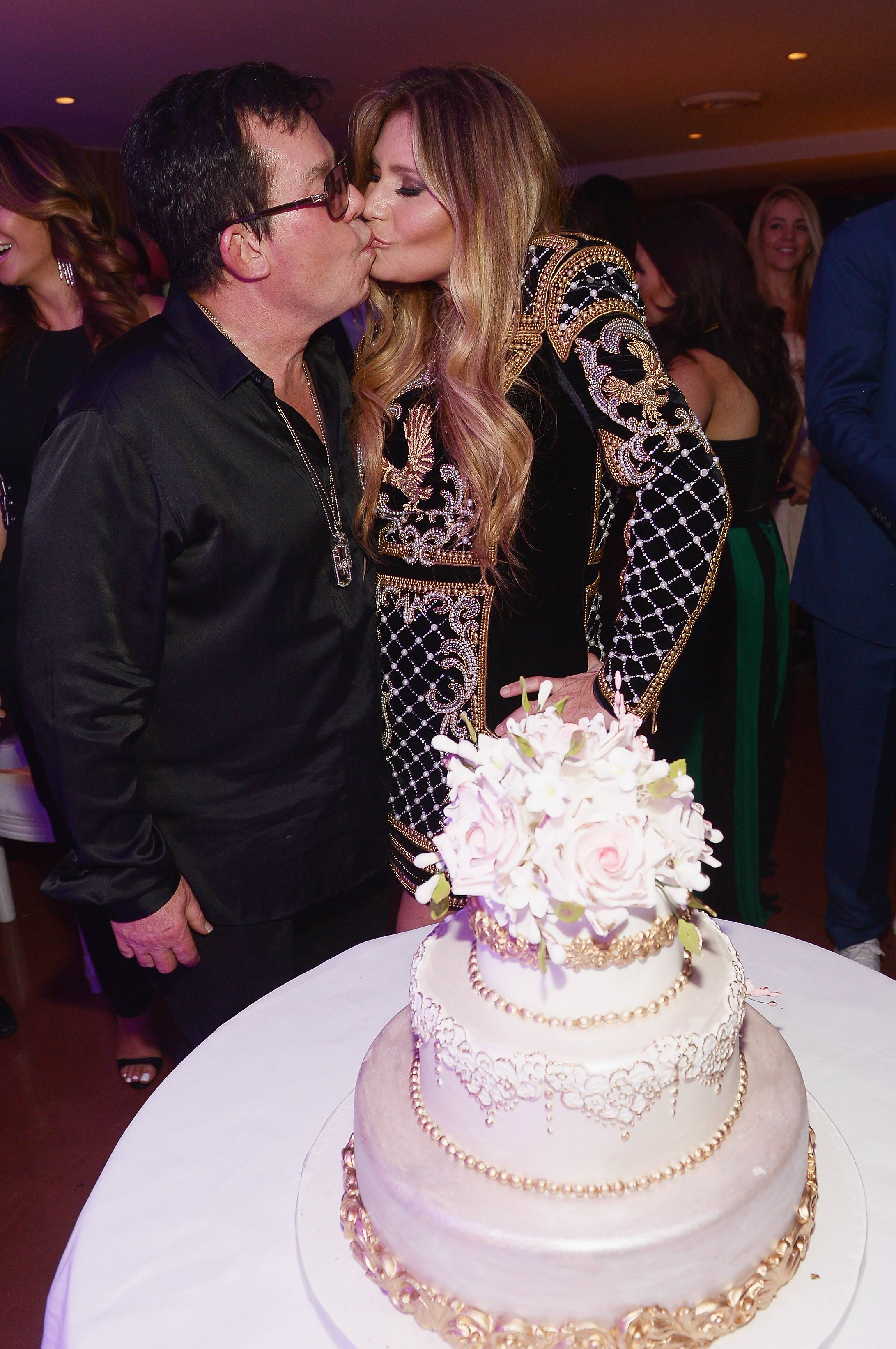 JR Ridinger and Loren Ridinger attend Haute Living celebrates Loren Ridinger's birthday at Cipriani Downtown Miami on November 21, 2015 in Miami, Florida. (Photo by Gustavo Caballero/Getty Images for Haute Living)