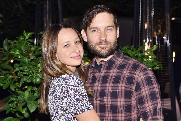 Designer Jennifer Meyer and actor Tobey Maguire