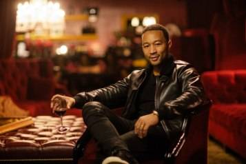 John Legend in The Red Room at Raymond Vineyards