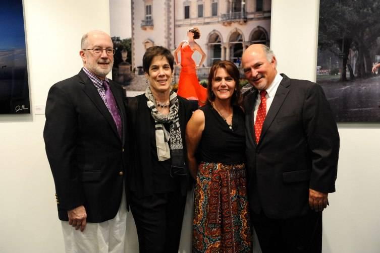Charlie Adelman, Debbi Adelman, June Cuchetti, & Arthur Litowitz