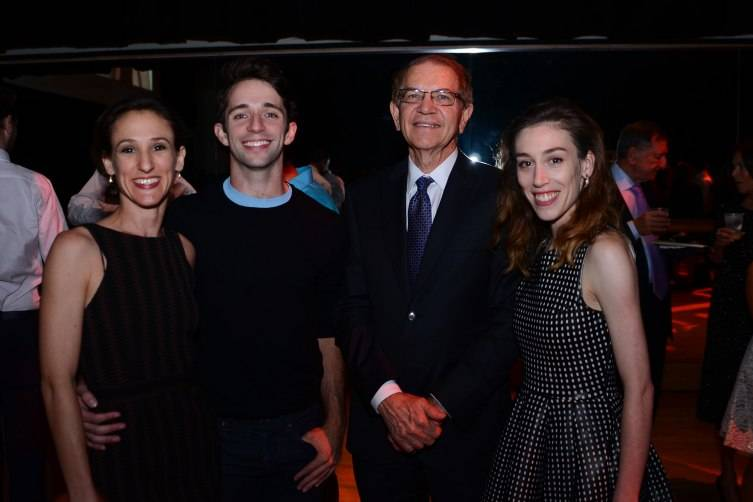 MCB Dancers with Mike Eidson at the season opening night private members party