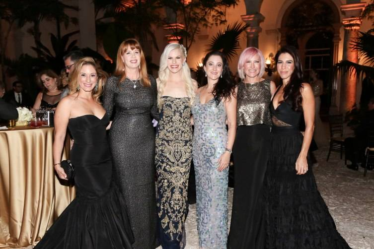 (Left to right) Lesley Griffith, Alexa Wolman, Susanne Birbragher, Suzy Buckley Woodward, Pearl Katz, Marisa Toccin Lucas