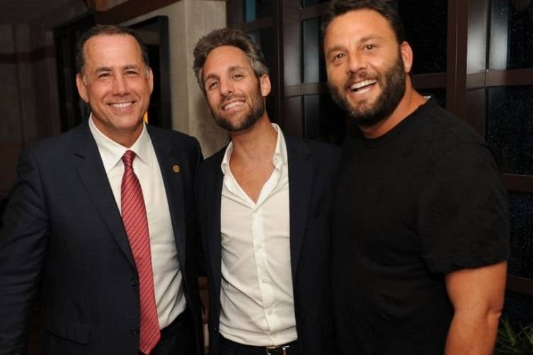 Miami Beach Mayor Philip Levine Seth Browarnik David Grutman