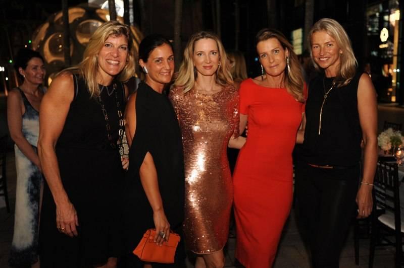 Michele Heary, Cristiana Vigano, Hadley Henriette, Dana Shear, & Marzena Kosicka