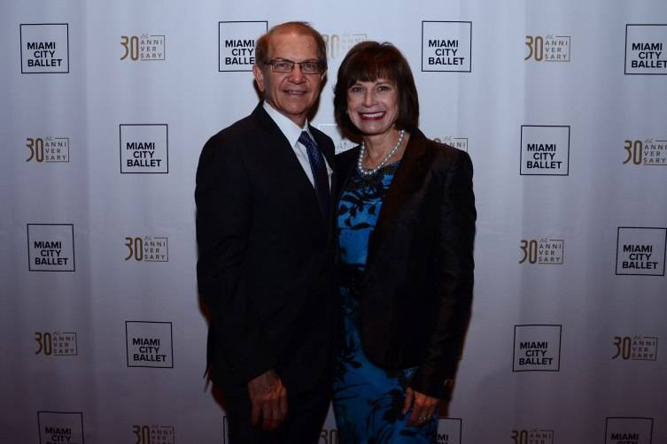 Mike and Margaret Eidson at the MCB Grand Opening