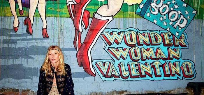 Gwyneth Paltrow & Valentino Debut Wonder Woman Collection