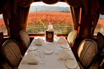 Napa Valley Wine Train web