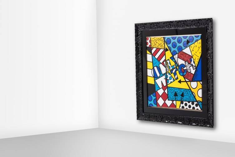 Only Watch - Painting from Romero Britto (2)