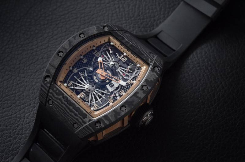 Richard-Mille-RM022-Aerodyne-Dual-Time-Zone-Tourbillon-Asia-Edition-Watch-2015-Mood-Shot