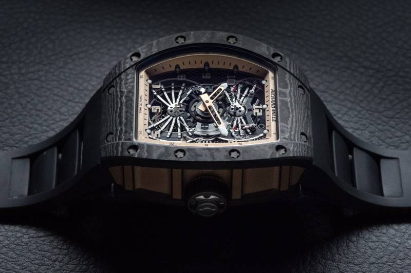 Richard-Mille-RM022-Aerodyne-Dual-Time-Zone-Tourbillon-Asia-Edition-Watch-2015-Side-View