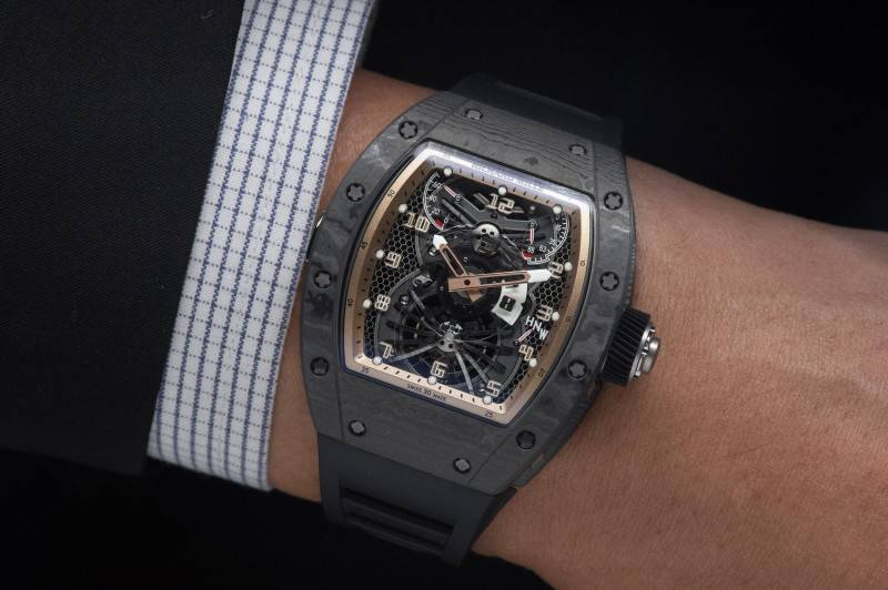 Richard-Mille-RM022-Aerodyne-Dual-Time-Zone-Tourbillon-Asia-Edition-Watch-2015-Wristshot