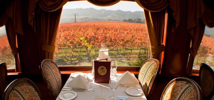 Super Bowl 50 Countdown: The Napa Valley Wine Train Gets In On The Action