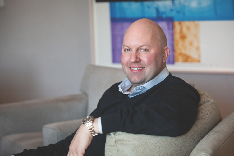 MARC ANDREESSEN PHOTO: ANDREESSEN HOROWITZ