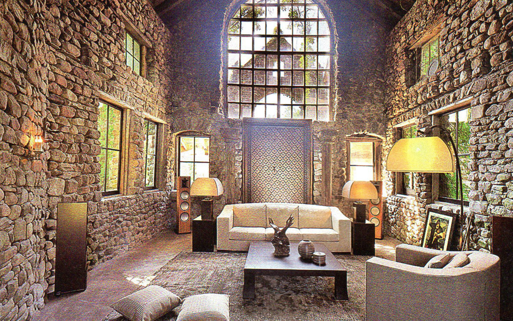 Stone Barn Castle's interior post rennovation