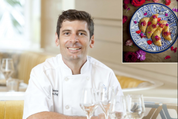 Chef Stuart Cameron of Byblos