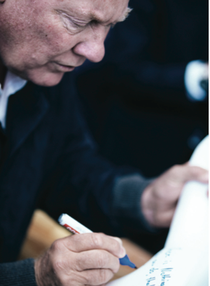 Chairman of Hublot and President of LVMH Group Jean-Claude Biver.