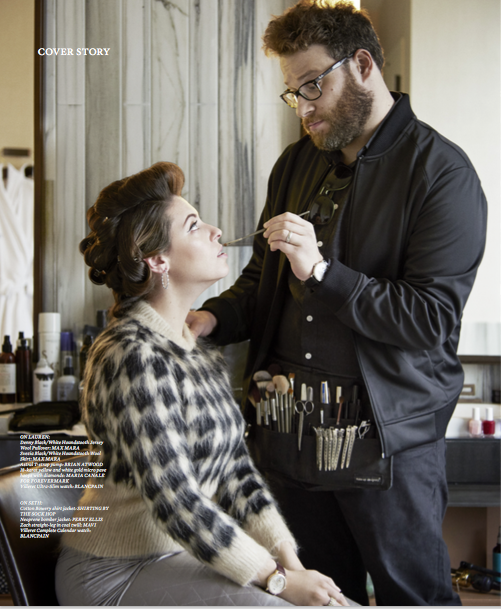 Seth Rogen for Haute Living