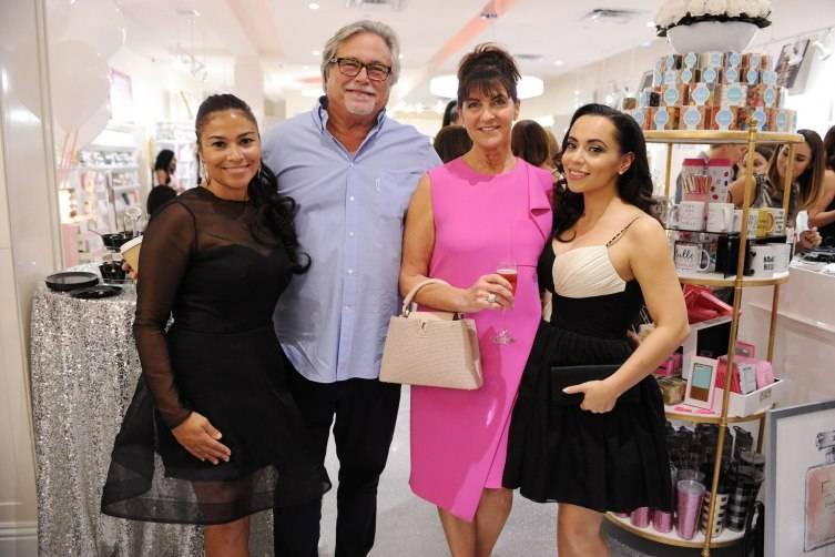 Shannon Allen, Micky & Madeleine Arison, Adrienne Bosh
