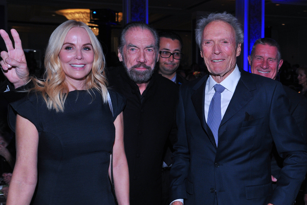 Stacy Poitras, John Paul DeJoria and Clint Eastwood at the Navy Seal Foundation 2015 Evening of Tribute on Nov. 15, 2015 in Beverly Hills, CA. (Vince Bucci Photography).