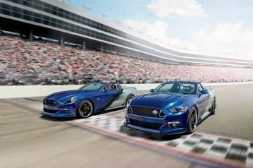 The 2015 Neiman Marcus Limited-Edition Mustang Convertible commemorates Mustang's 50th anniversary