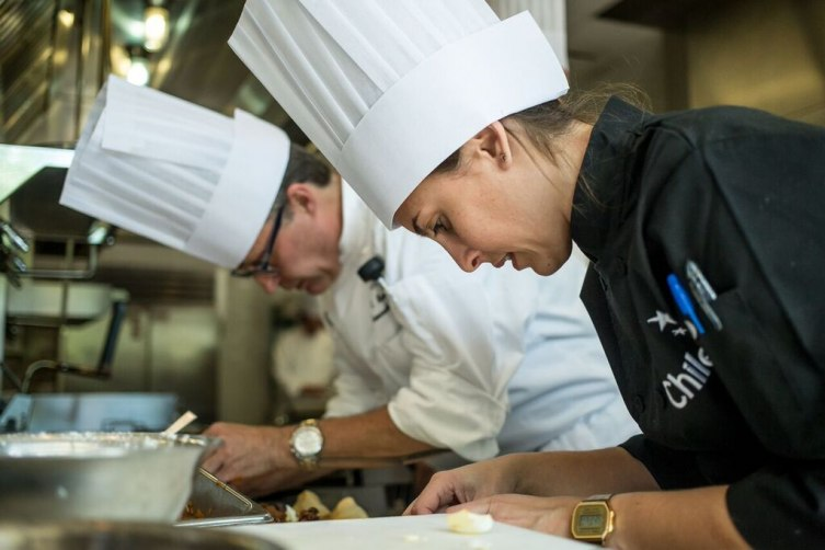 This year chefs from the Omni traveled to Chile to learn about the food, the wine, and the cooking techniques.