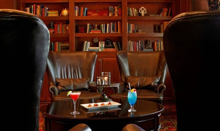 The Library Bar at the Melrose on Oak Lawn is like stepping back in time.