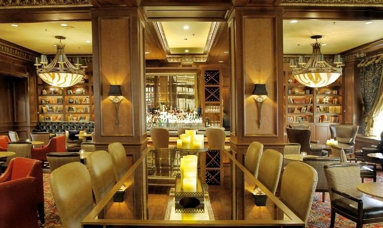 Whether you are coming with a crowd or want intimate seating Library Bar has just the spot.