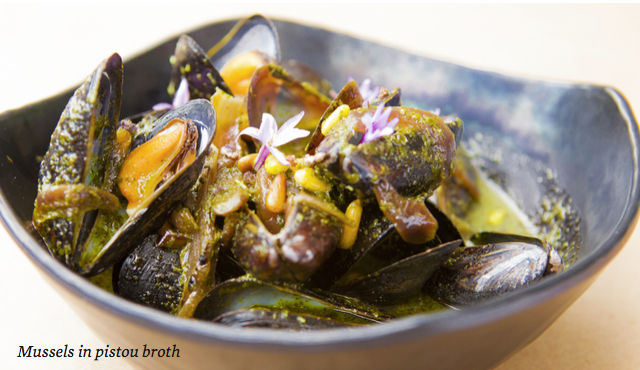mare mussels