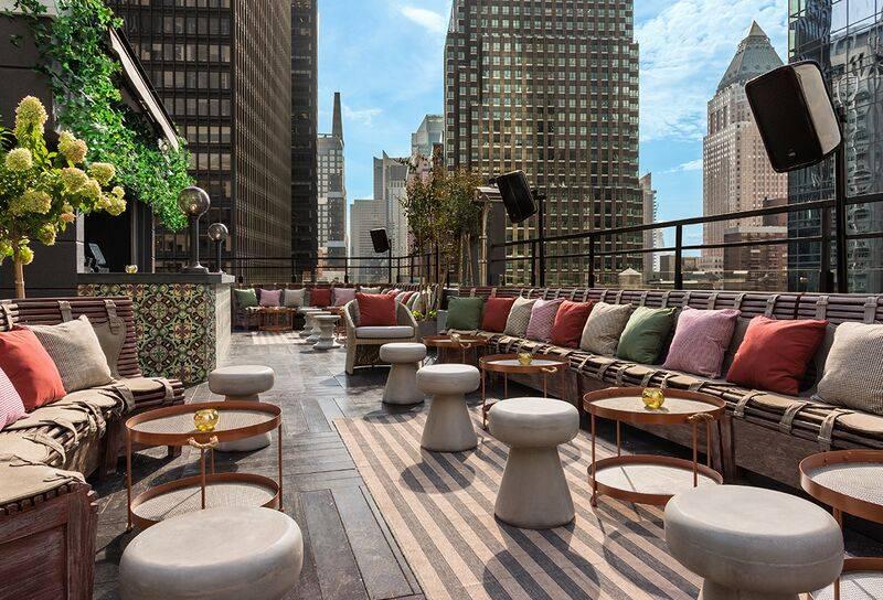 16th Floor PHD Terrace Dream Midtown