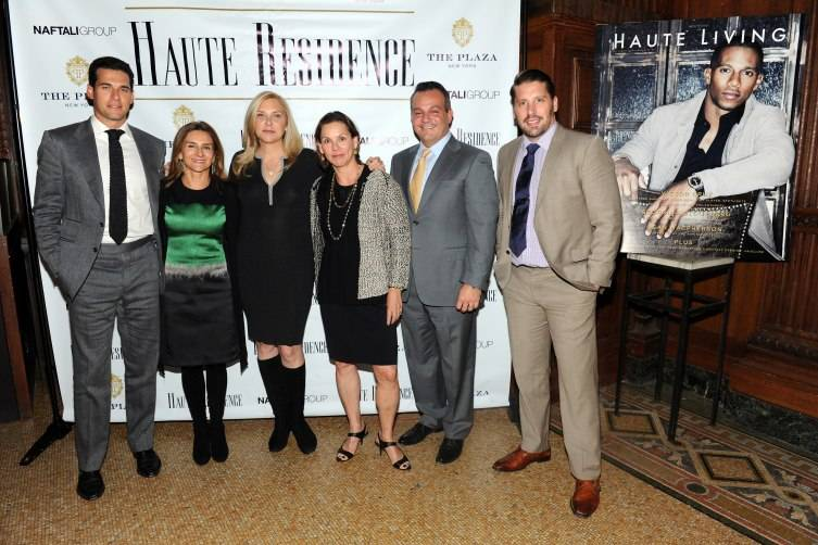 NEW YORK, NY - NOVEMBER 18:  (L-R) Oren Alexander, Lisa Lippman, Cathy Franklin, Cathy Taub, Stan Ponte and Matthew Breitenbach speaks during Haute Residence New York Luxury Real Estate Summit 2015 at The Plaza Hotel, Oak Room on November 18, 2015 in New York City.  (Photo by Craig Barritt/Getty Images for Haute Residence)