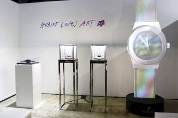 Hublot Kicks Off Art Basel With Reception To Honor Artist Carlos Cruz-Diez And Unveils Three Limited-Edition Classic Fusion Cruz-Diez Timepieces