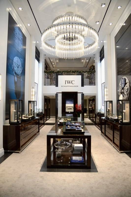 Inside the new IWC Schaffhausen Rodeo Drive flagship